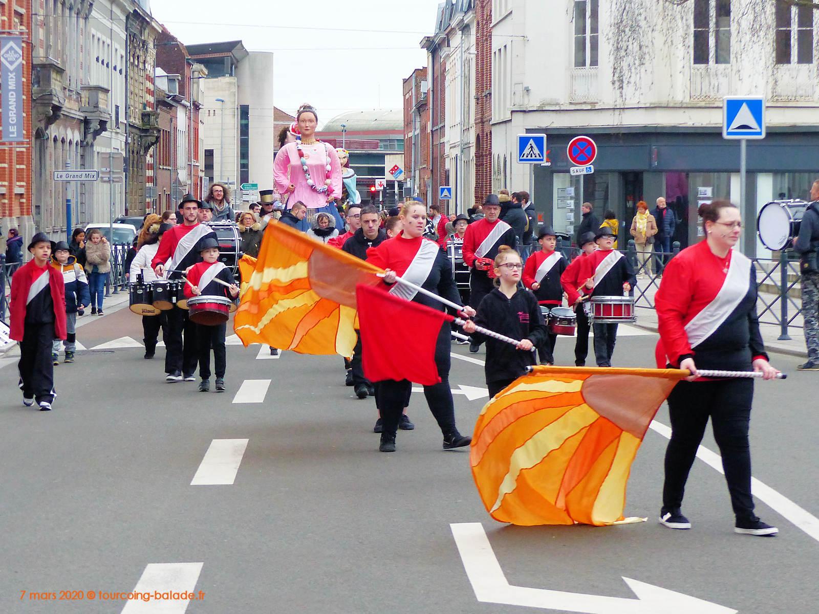 Clémentine du Virolois, 15ème Parade des Géants Tourcoing 2020