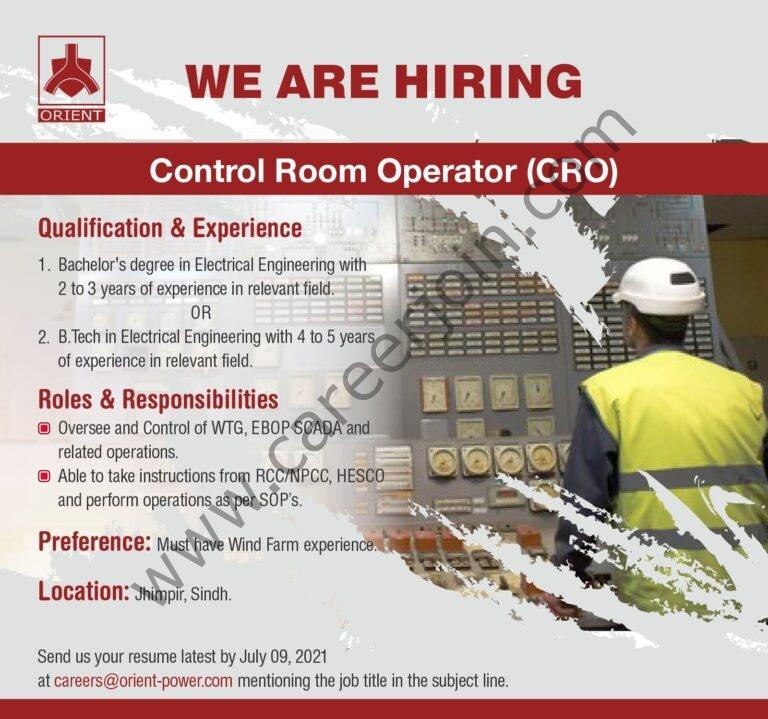 careers@orient-power.com - Orient Energy Systems Pvt Ltd Jobs 2021 in Pakistan