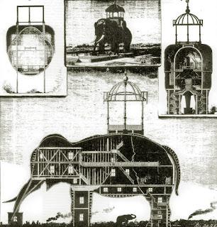 El Elephant Hotel, símbolo de la libertad hasta que se erigió la estatua