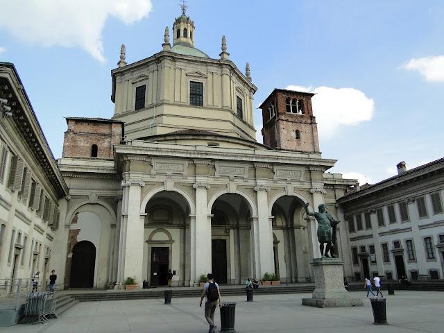 Basílica de San Lorenzo de frente