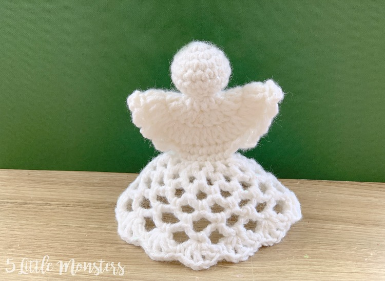 Easy Crochet Angel Amigurumi Free Pattern | 549x750