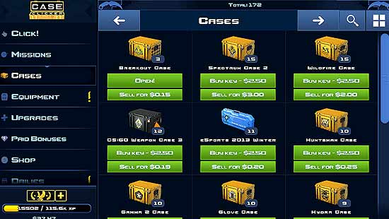 Case Clicker 2 Mod Apk For Android