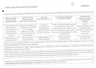 CGDA - Periodic review of Central Government Employees under Rule 48 of CCS (Pension) Rules,1972