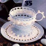 patron gratis taza amigurumi | free amigurumi pattern cup