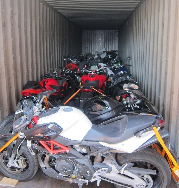 Jasa pengiriman Motor