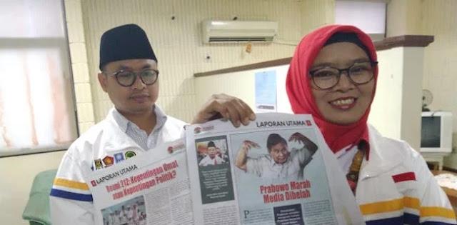 Khawatir <i>Indonesia Barokah</i> Pecah Belah Umat, BPN Lapor Ke Dewan Pers