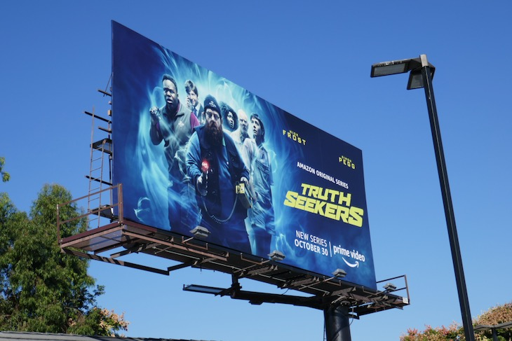 Truth Seekers season 1 billboard