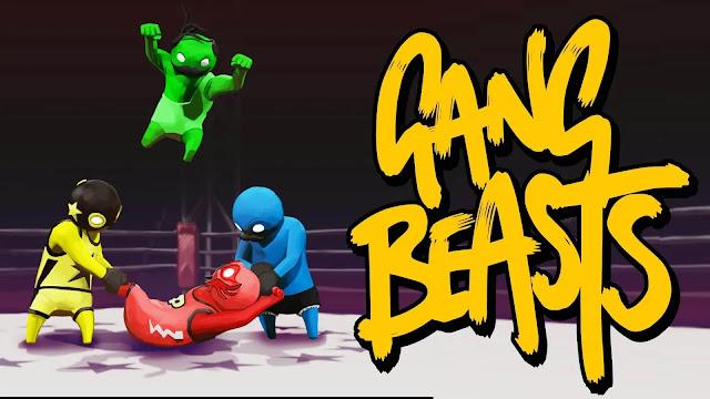 لعبة gang beasts القتال بشكل ممتع