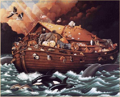 Kisah Dibalik Banjir Masa Nabi Nuh As