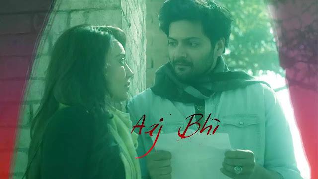Aaj Bhi Lyrics in English :- Vishal Mishra | Ali Fazal & Surbhi Jyoti