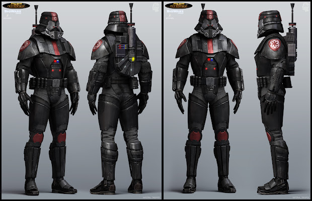 Star Wars The Old Republic Armor Sets Exploring Mars