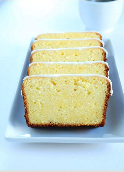 Gluten Free Iced Lemon Pound Cake