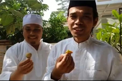 Ketika Ustadz Abdul Somad Makan Sambil Berdiri, Begini Penjelasannya