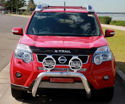 Eksterior Nissan X-Trail T31 Gen2 Modifikasi