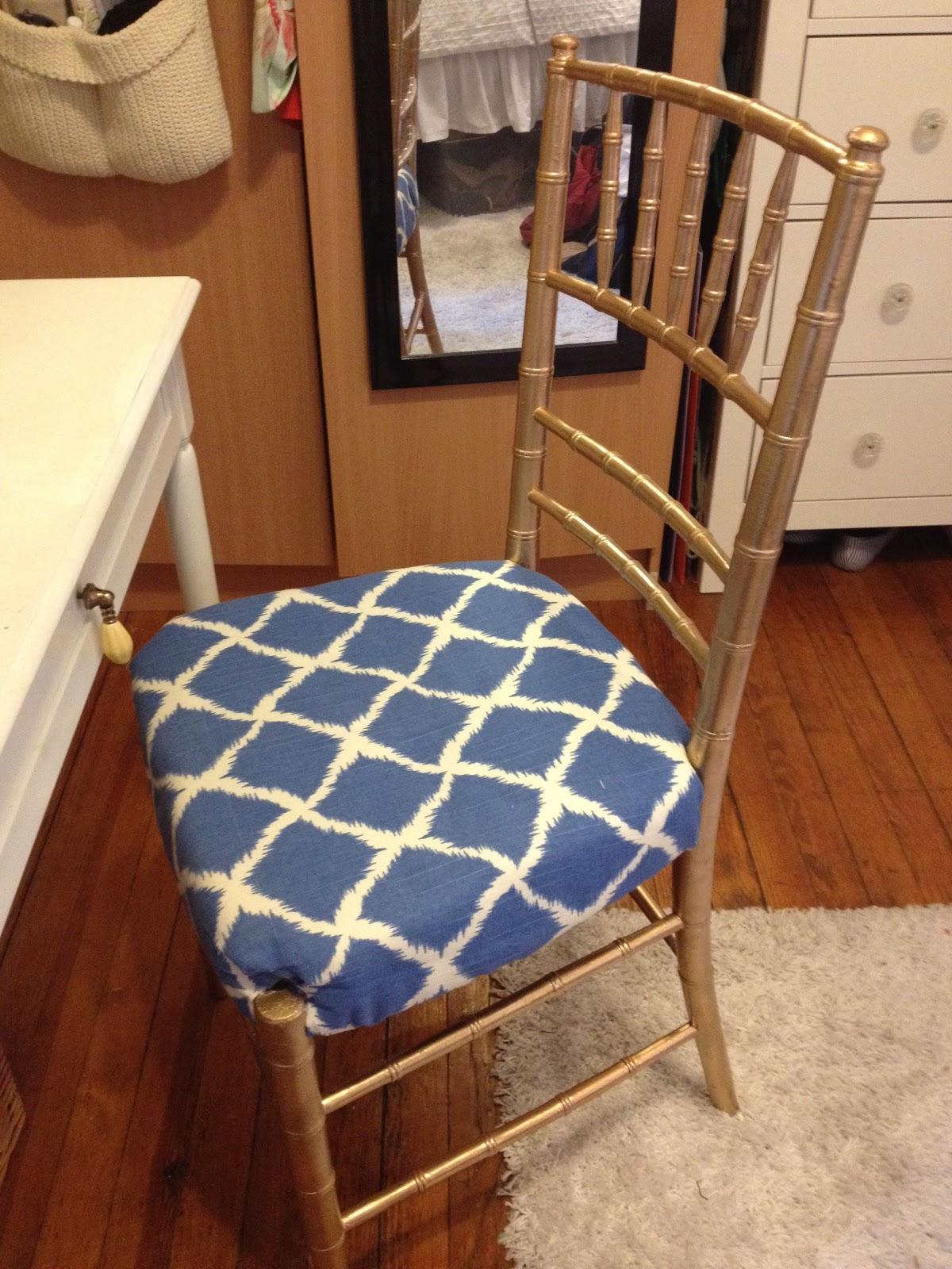 Claire Crisp Diy Faux Bamboo Chair