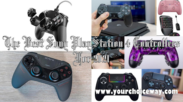 The Best Sony PlayStation 4 Controllers For 2021 - Your Choice Way
