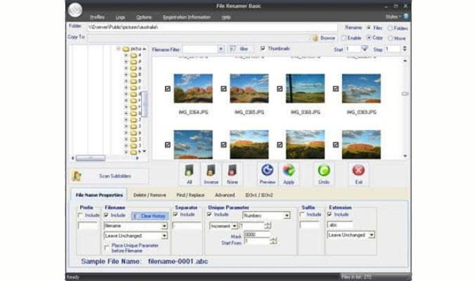 Cara Mudah Rename Banyak File Sekaligus - File Renamer Basic