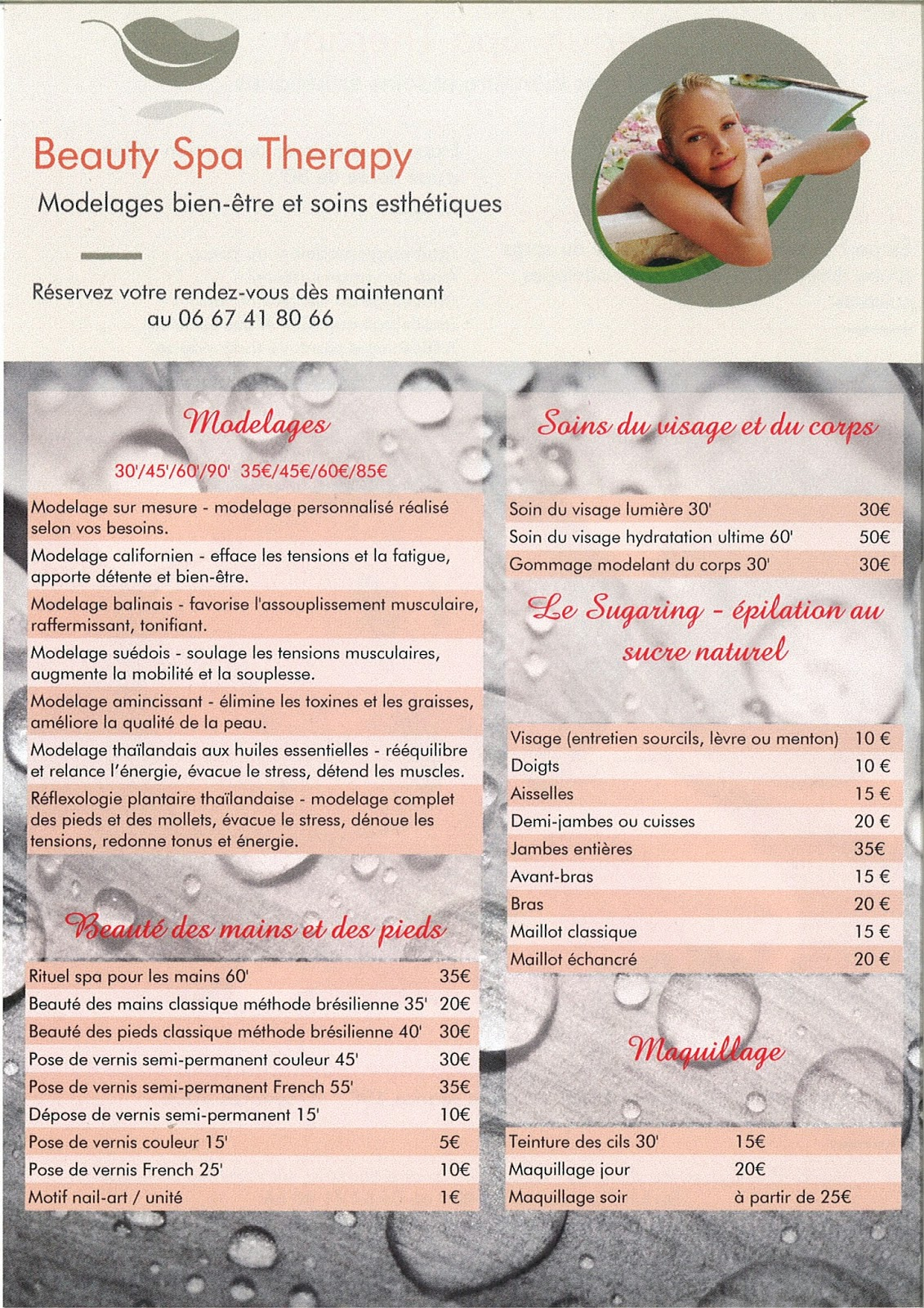 Beauty Spa Therapy 2014