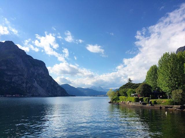 Wielkanoc nad jeziorem Como