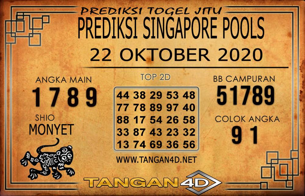 PREDIKSI TOGEL SINGAPORE TANGAN4D 22 OKTOBER 2020