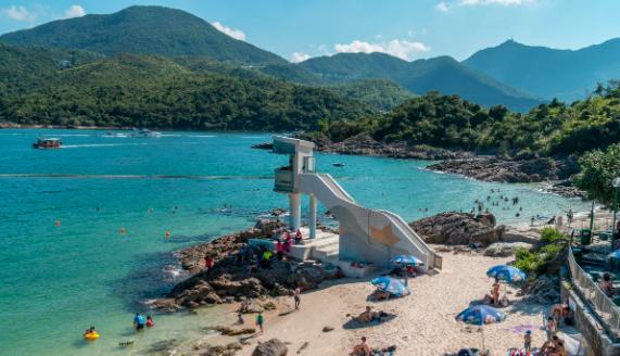 Bocah Berusia 6 Tahun Tenggelam di Trio Beach , Sai Kung