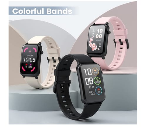 NAIXUES Full Touch Screen Multiple Functional Smartwatch