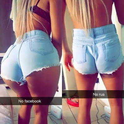 no facebook / na rua