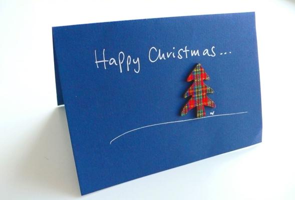 Jan30 2015 Handmade Christmas card