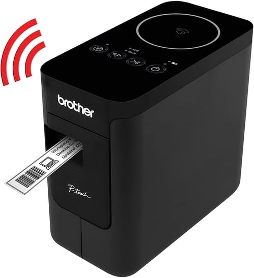 Review Brother P-touch PTP750W WiFi Label Maker