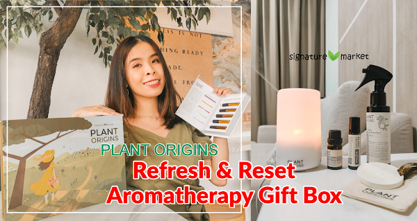 Refresh & Reset Aromatherapy Gift Box from Plant Origins | Signature Market