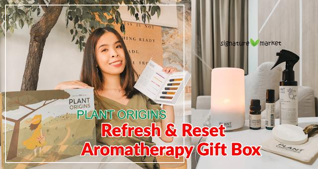 Refresh & Reset Aromatherapy Gift Box from Plant Origins | Signature Market