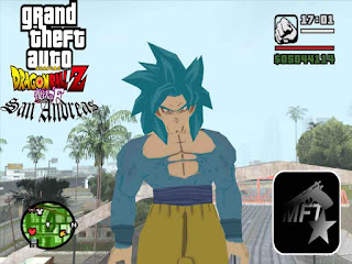 Gta San Andreas Goku MOD Game Free Download