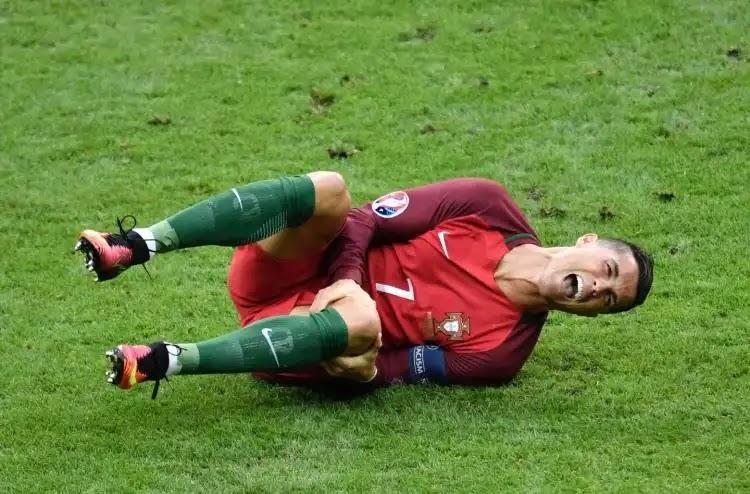 إصابة كريسيتانو رونالدو أمام منتخب صربيا... وتقرير عن مدة غيابة عن الملاعب
