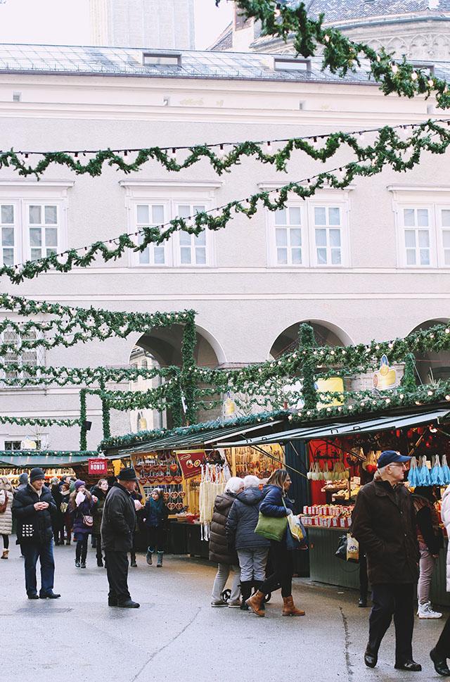 Salzburg Dom Cathedral Christmas Market