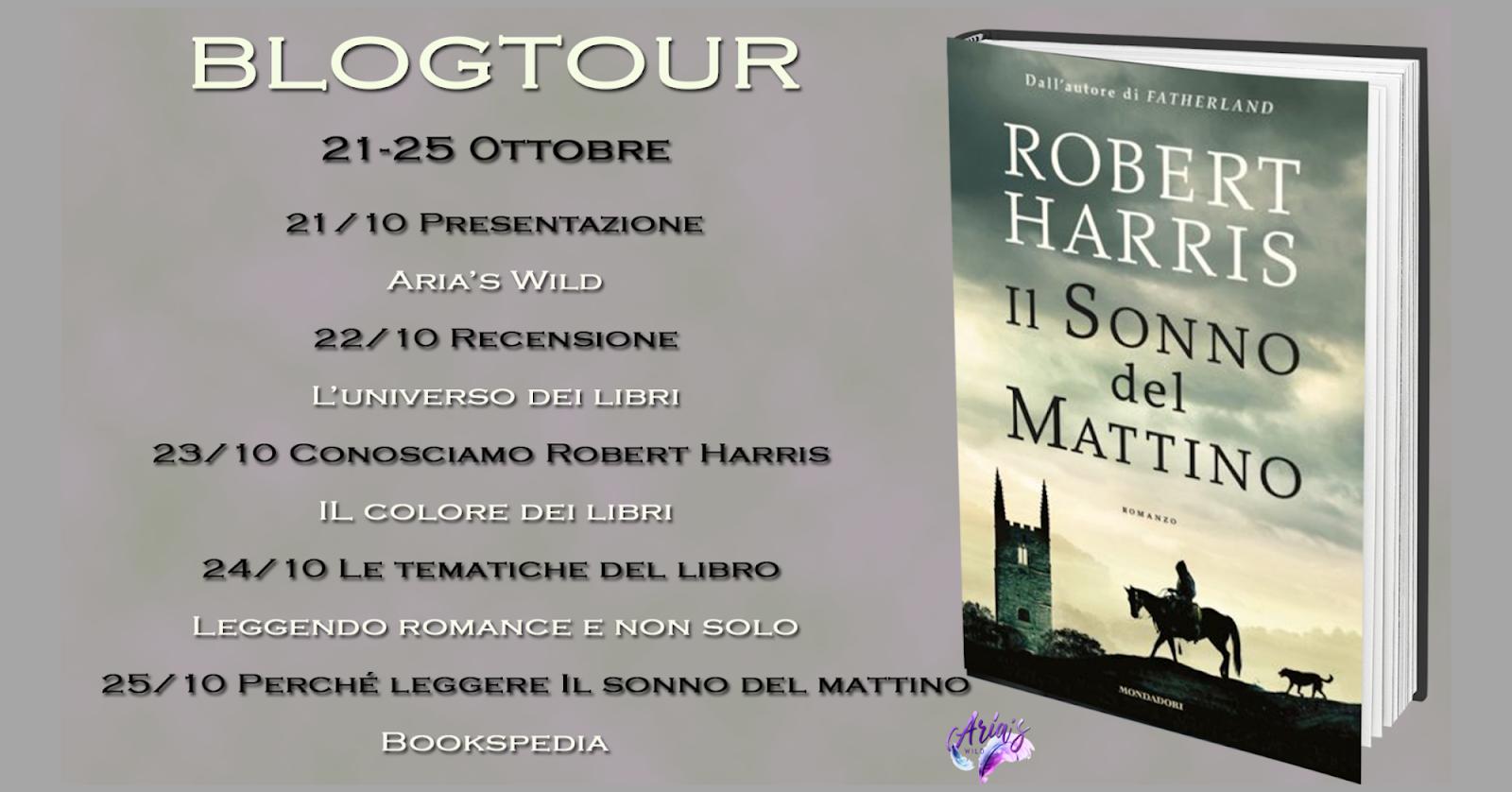 Il sonno del mattino di Robert Harris | Blogtour: le tematiche del libro