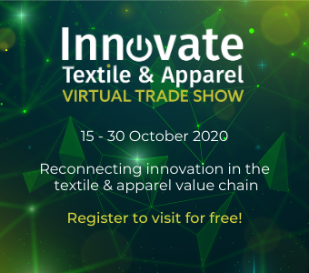 Innovate Textile & Apparel virtual trade show now live