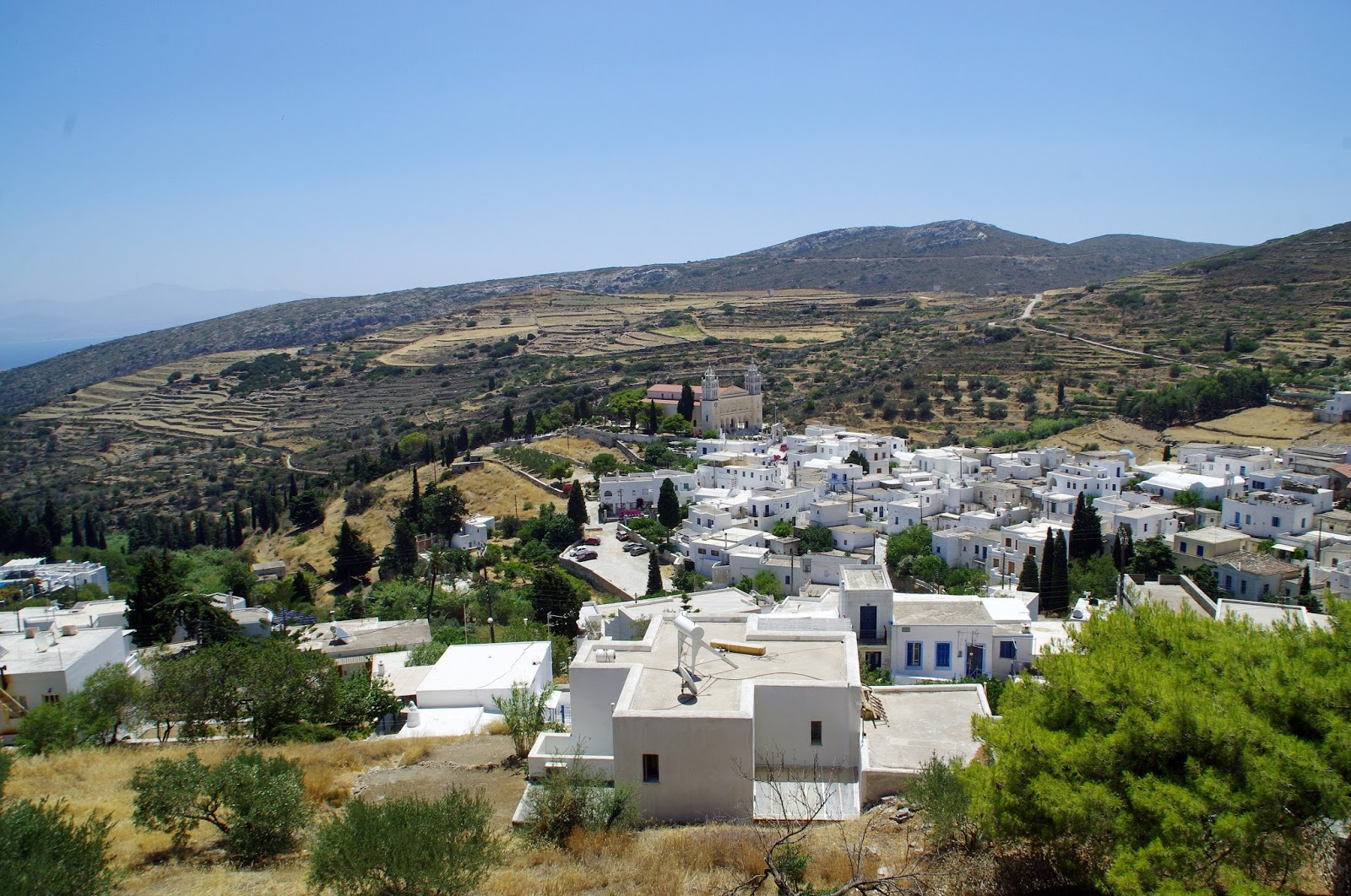 Paros Mountain Villages