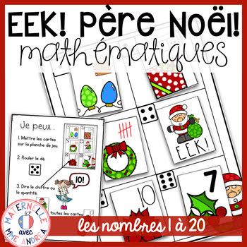 Starting to feel the Christmas crazies in your maternelle or French primary classroom? Check out these five fun and festive activities to do at school this Christmas season that are sure to keep your students happy and engaged!