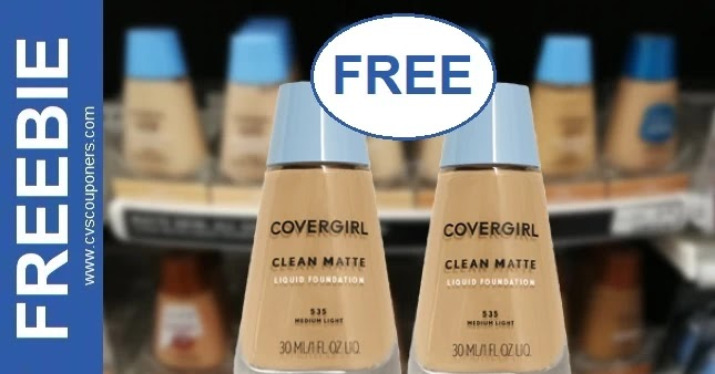 FREE CoverGirl Foundation CVS Deals 3-28-4-3