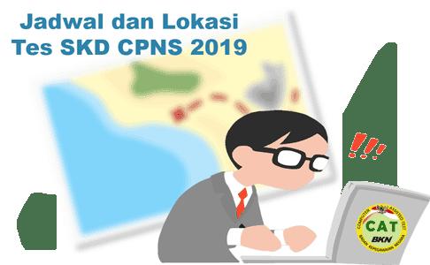 jadwal dan lokasi tes skd cpns 2019 sulawesi utara dan maluku utara