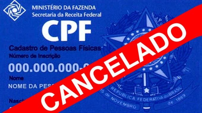 Suspensão do CPF provoca dor de cabeça em contribuintes