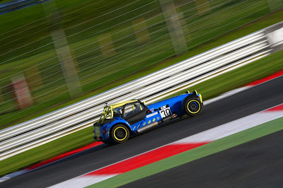 me (Daniel French) driving my 2018 Caterham Roadsport at Brands Hatch