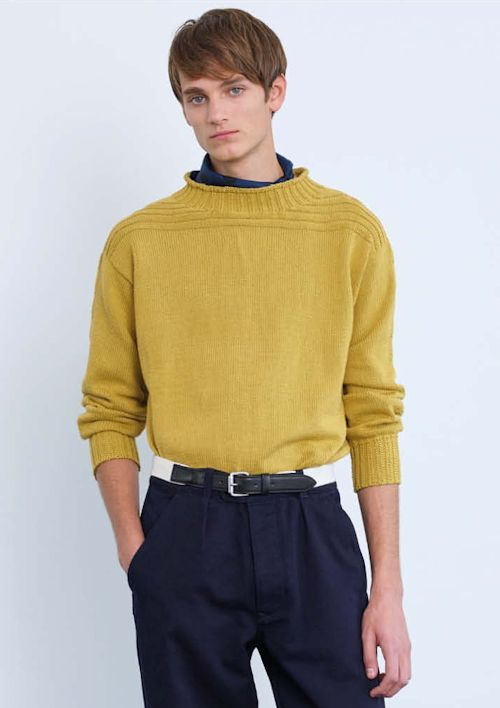 c2a3748f9403 MH Guernsey Sweater by Marion Foale