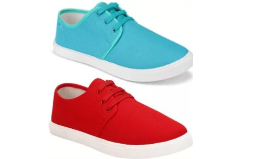 70% OFF Axter Pack of 2 Casual Loafer Sneakers Shoes For Men on Flipkart