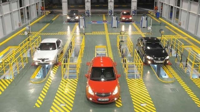 Παρατάσεις ισχύος των Δελτίων Τεχνικού Ελέγχου και Καρτών Ελέγχου Καυσαερίων όλων των αυτοκινήτων πλην φορτηγών και λεωφορείων