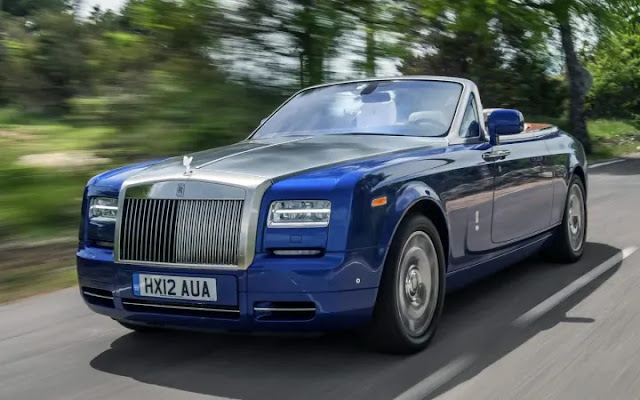 Most Expensive Things owned by Lil Wayne - Rolls Royce Phantom Drophead coupe