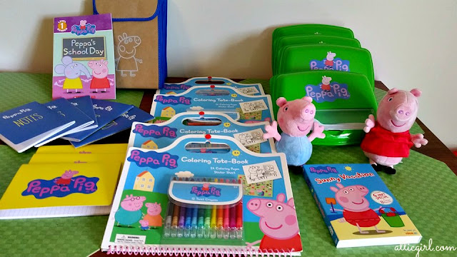 back-to-school, Peppa Pig party ideas