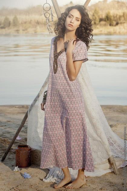 Vestidos sueltos primavera verano 2017 ropa de moda 2017.