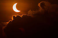 Solar Eclipse seen from Indonesia