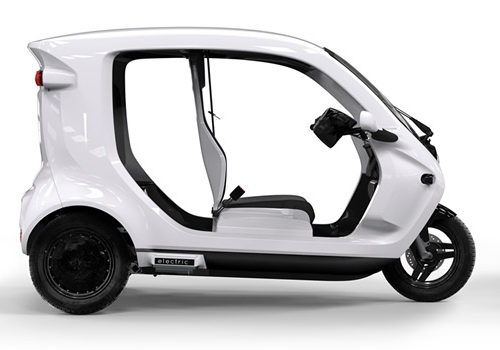 Tinuku Zbee three-wheeled electric ready production in Indonesia